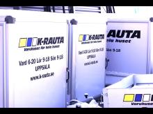 K-rauta Uppsalas släpvagnar