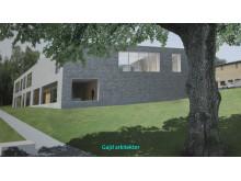 Gajd arkitekters förslag på nytt krematorium