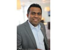 Roshan Malalatunga - Hotelldirektör för Scandics tre hotell i Linköping