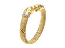 Exklusiva 12/4, Nr: 9, CARTIER, armband, 18K trefärgat guld