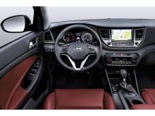 Hyundais nye Tucson SUV - interiør