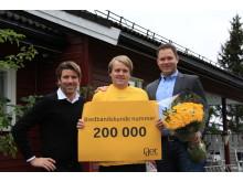 Gets Bredbåndskunde nr. 200 000