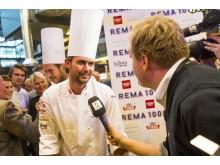 REMA 1000 gratulerer Ørjan Johannessen med tittelen Årets Kokk 2013!