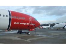 LN-DYW parkert på Boeing Field