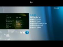 """""""Get tv"""", fullskjermvisning nytt brukergrensesnitt"""