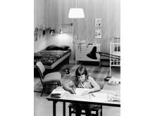 Belysning i barnens rum 1959. Foto: Karl-Erik Granath, © Nordiska museet