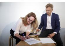 Röda Korset och Migrationsverket signerar avsiktsförklaring om samarbete