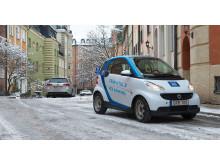 Swedavia inleder nu ett samarbete med bildelningstjänsten car2go