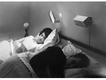 Sovrum 1960-tal, Foto Royal foto, Nordiska museet.