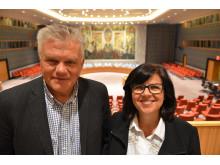 Lærere fra Kristiansund på studiereise til FN i New York.