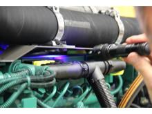 Crimestoppers - UV-ljus avslöjar identiteten på maskinen