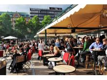 Gården Bar & Grill öppnar på Norra Latins skolgård