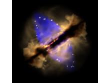 Bubblan kring en nyfödd, tung stjärna 3