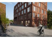 Skiss Skolan för arkitektur och samhällsbyggnad, KTH
