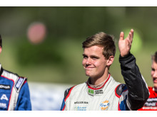 Thomas Bryntesson segrade i Supercar-lites