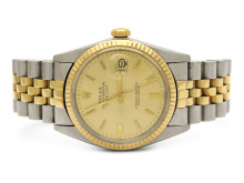 Klockor 5/9, Nr: 195, ROLEX, Oyster Perpetual, Datejust, Chronometer, Ref nr. 16013