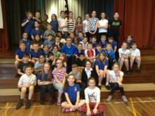 Atos Athlete Ambassador goes back to school to put pupils through their paces
