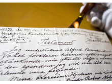 Alfred Nobels testamente
