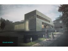 Liljewalls arkitekters förslag på nytt krematorium