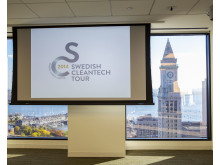 Swedish Cleantech Tour 2014 Boston