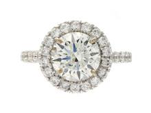 Exklusiva 12/4, Nr: 158, RING, 18K vitguld, briljantslipad diamant 2,56 ct