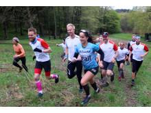 Trail running med Team Nordic Trail, Fotograf Emil Sergel