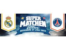 Supermatchen 2013: Real Madrid mot Paris Saint-Germain på Ullevi