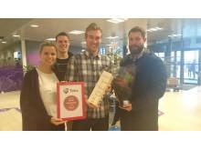 Telia vandt årets newsroom