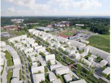 Planerad bebyggelse i Vallastaden, Linköping