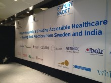 Swedish health care delegation visit to India, press conference in Hyderabad