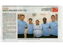 QNET Inks Deal With City