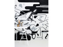 Graffiti wallpaper by Dotse for Photowall