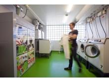 En klimatsmart tvättstuga