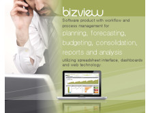 BizView - Planning, forecasting, budgeting, consolidation, reports and analysis