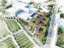 Det nya sjukhusområdet