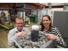 Renovas Miljöstipendiater 2014: Erik Stenvall och Sandra Tostar, Chalmers