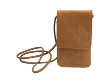 Gear by Carl Douglas halsremtaske for smartphone brun ægte læder