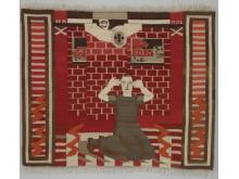 Hannah Ryggen. Gru. Fra Borgerkrigen i Spania, 1936.