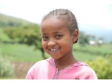 Elizabeth 11 år från Etiopien