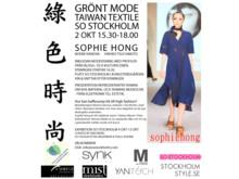 Inbjudan modevisning Sophie Hong (Taiwan) fredag 2 okt