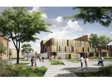 Den nya vårdbyggnaden