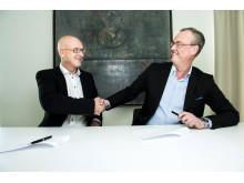 Signerte avtale om kjøp av ICAs dagligvarevirksomhet i Norge
