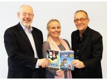 Mats Ahlström, Cecilia Helsing och Reinhold Hedenblad