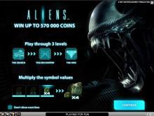 Aliens Videoslot