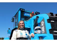 Volvo L60G PCP - Karin Olsson, förare