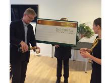 Eurojackpot-vinderen af 315 millioner kroner