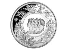 Benedetto Pistruccis Waterloo medalj