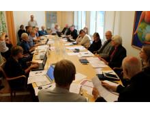 Styrelsemöte med Sveriges kristna råd, 10 september 2015