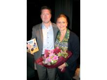 Interflora.se och Tina Thörner skänker 10 000 kr till barnhem i Bangui