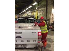 Procurator besöker gruva